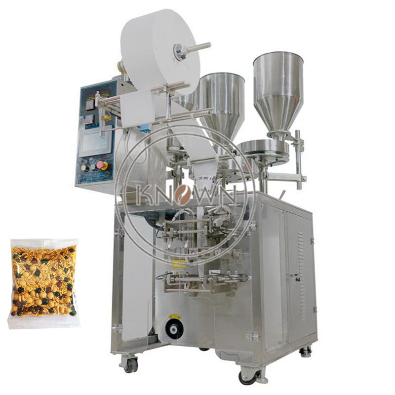 Multi material automatic vertical rice nut packing machine granule packaging machine