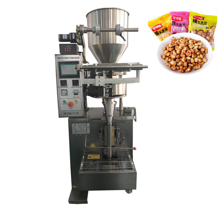 Automatic granule packing machine peanut beans popcorn packaging machine