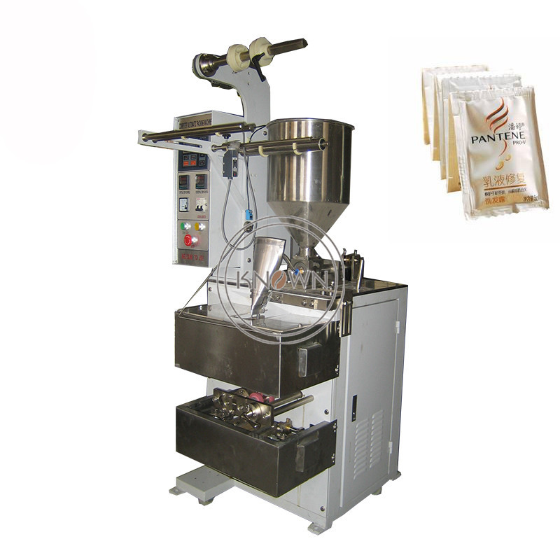 3 sides seal paste packing machine pouch packaging machine for sale